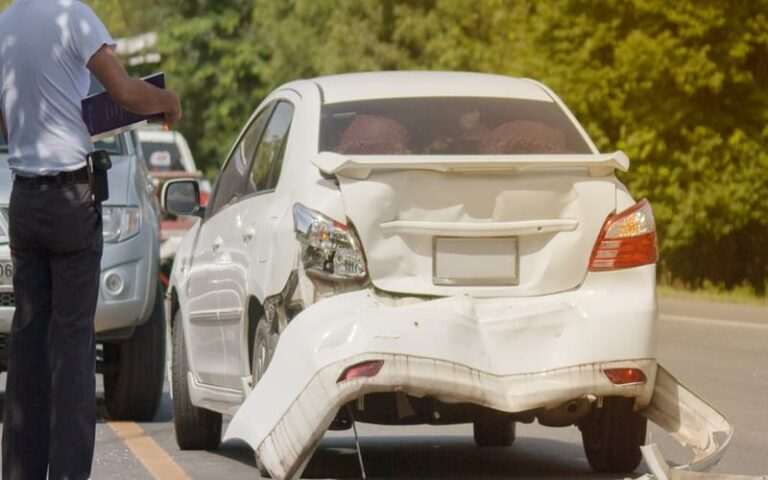 call police after an atlanta car accident