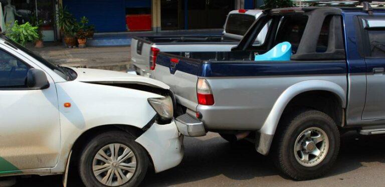 Atlanta Parking Lot Accident