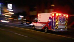 ambulance concept of Wilcox County single-vehicle crash